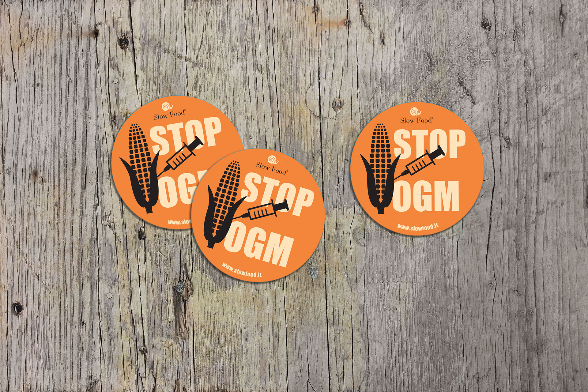 """Stop GMO"" Campaign / Slow Food"