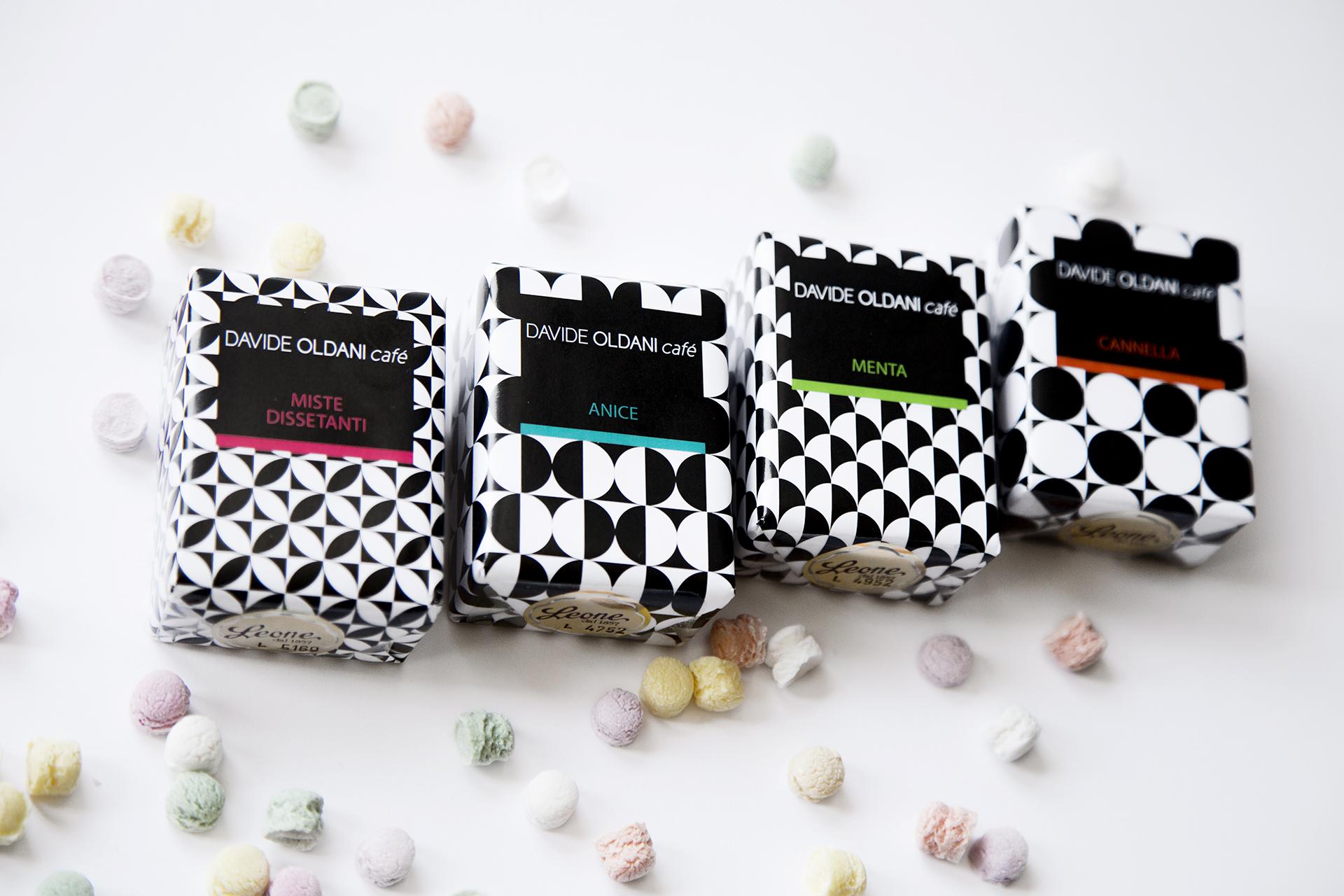Davide Oldani Cafè custom boxes / Pastiglie Leone