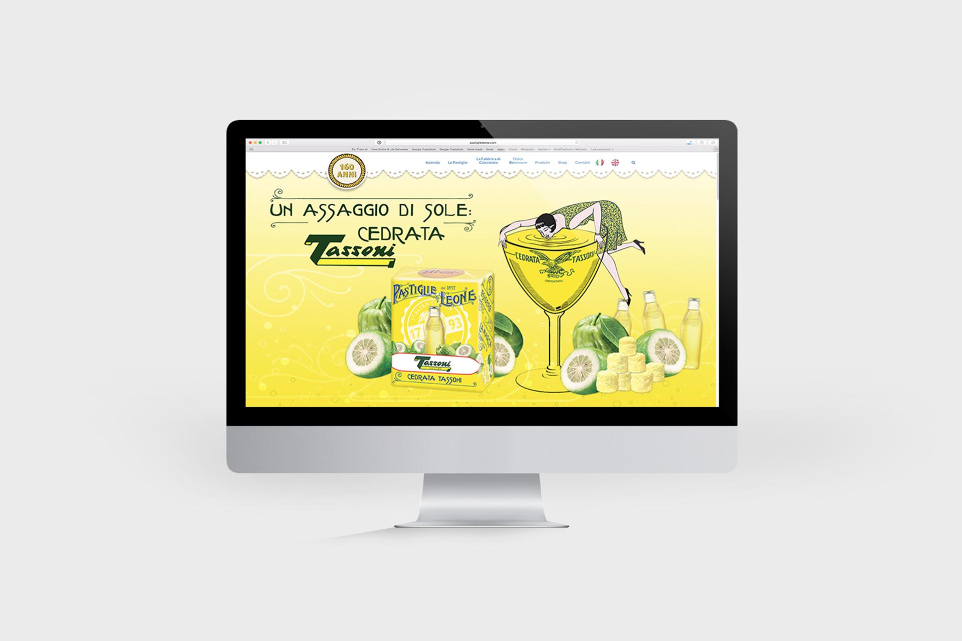 Web banner / Pastiglie Leone