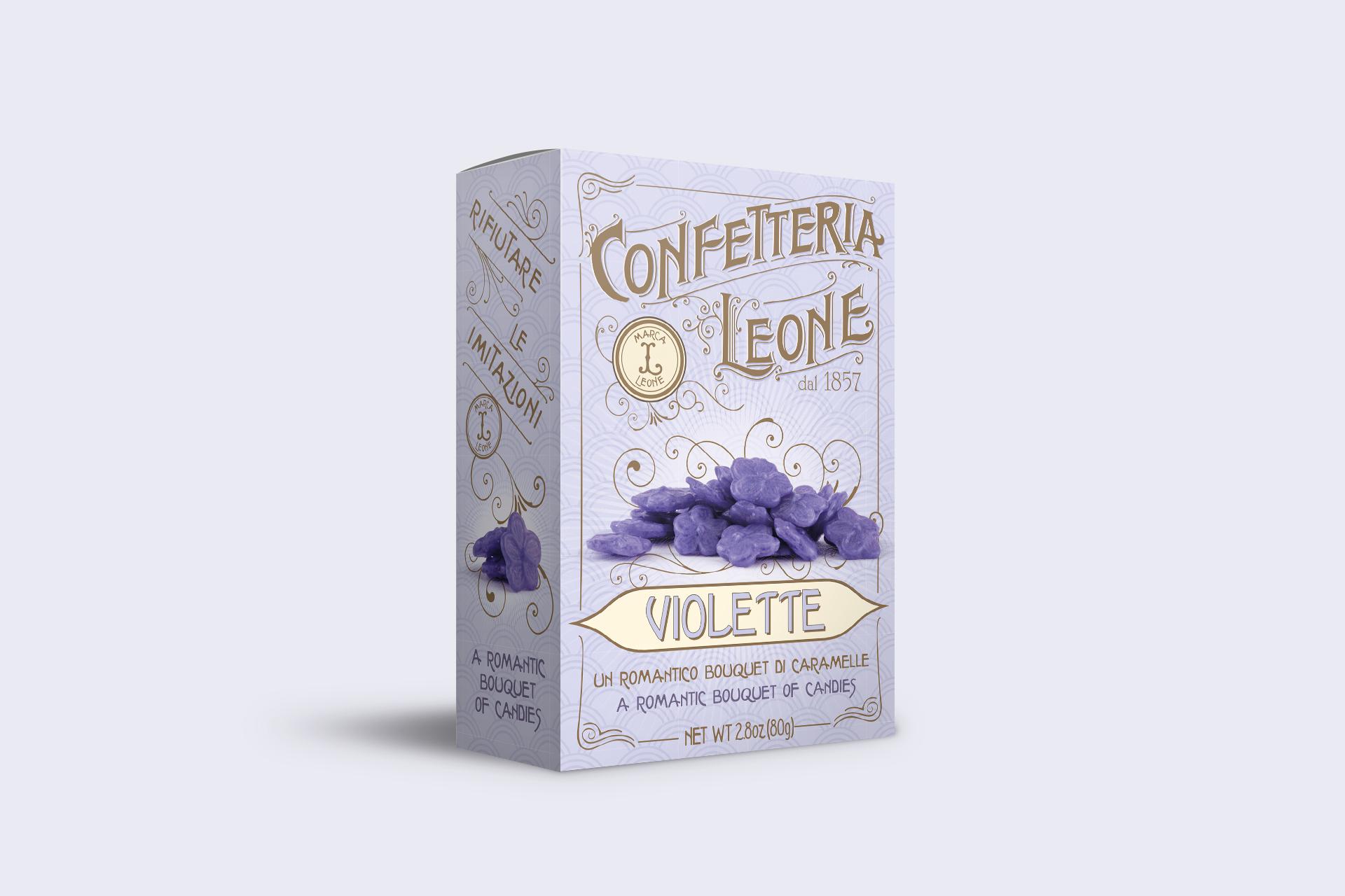 Confetteria Leone - gusto violetta