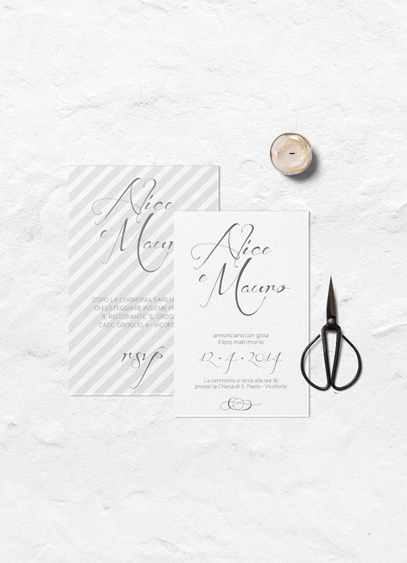 Lignes / Wedding Invitations