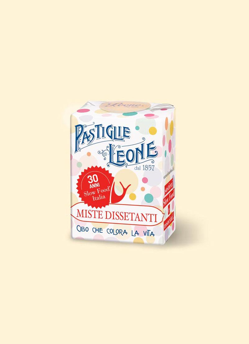 Leone custom box per 30 anni Slow Food Italia