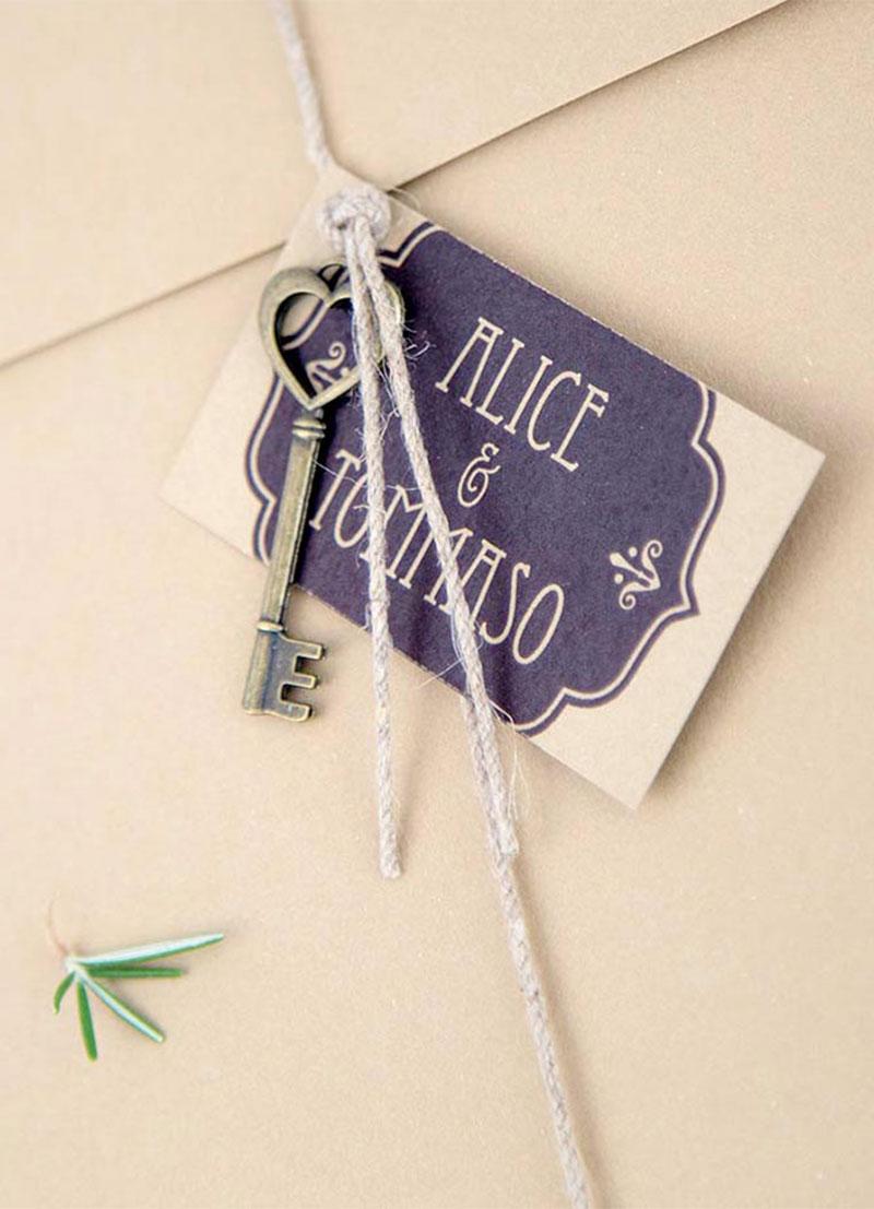 Vintage / Wedding invitation