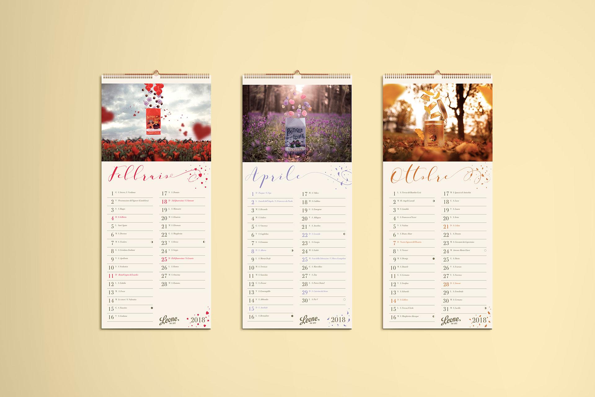 Calendario M.Calendario Leone 2018 Volume1