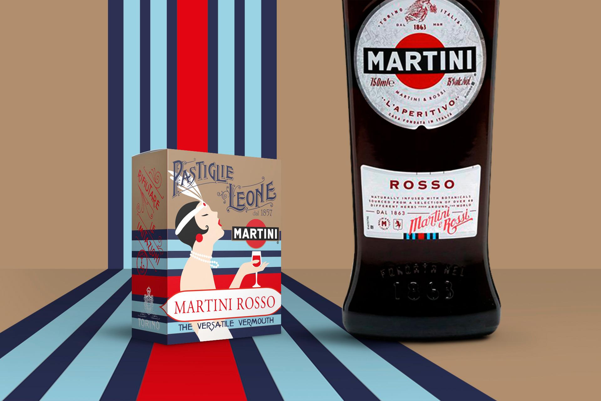 Fascetta Martini Vermouth