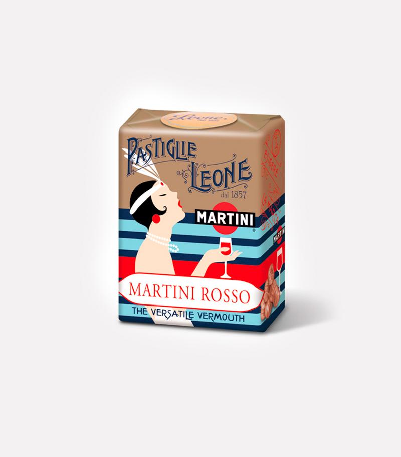 Pastiglie Leone al Martini Vermouth