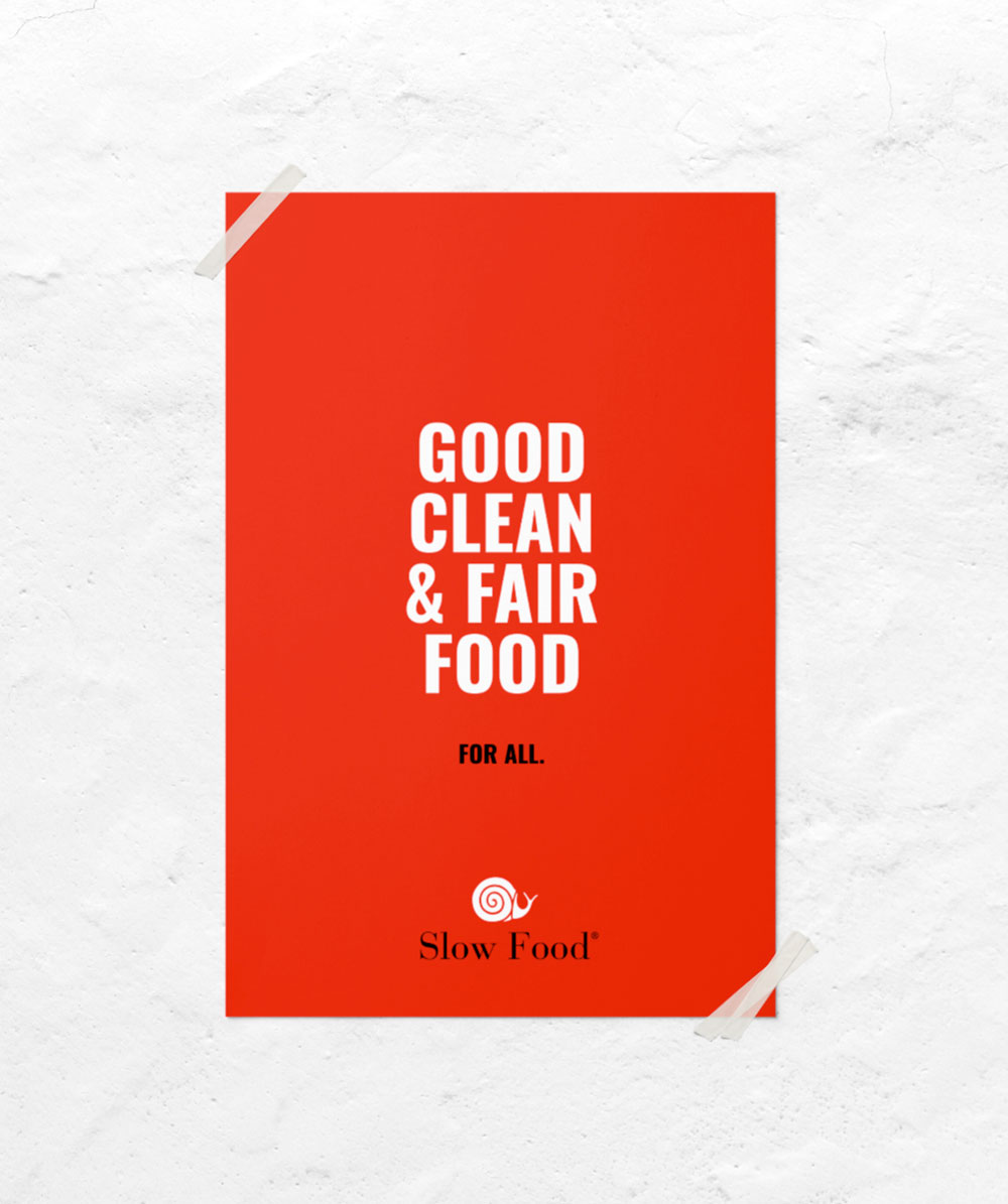 Slow Food Brand Identity Restyling