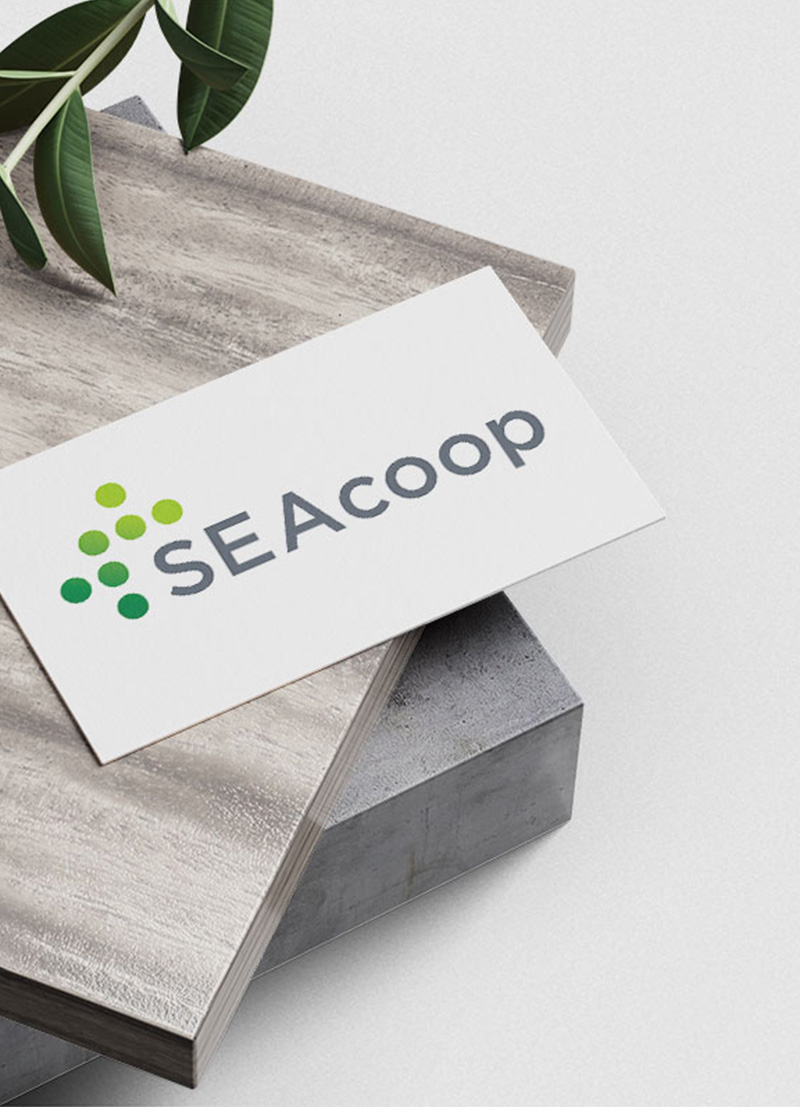 Restyling logo SEAcoop